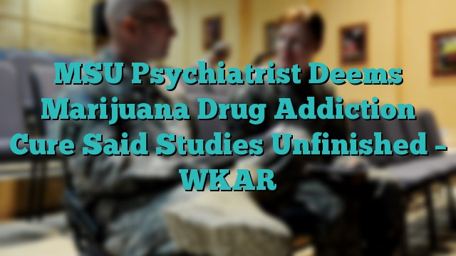 MSU Psychiatrist Deems Marijuana Drug Addiction Cure Said Studies Unfinished – WKAR